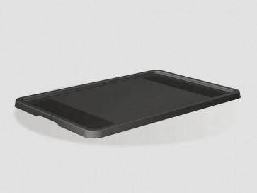 Eurobox műanyag fedél, 40x30 cm, grafit