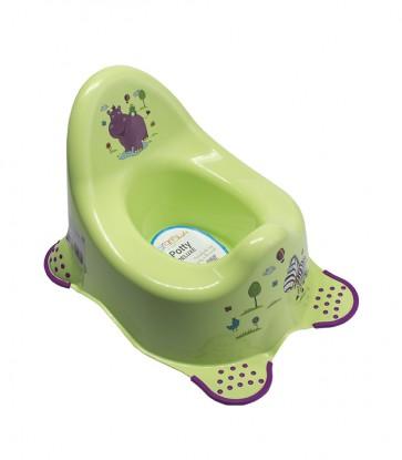 """Bili """"Hippo"""", zöld, 38x27x24 cm"""