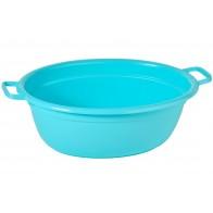 Műanyag lavór, kék, 60 L