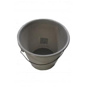 Vödör fém fogantyúval, szürke, 10 L - UTOLSÓ 10 DB