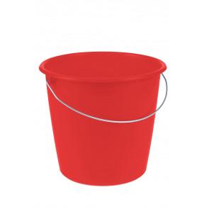 Vödör fém fogantyúval, piros, 10 L - UTOLSÓ 9 DB
