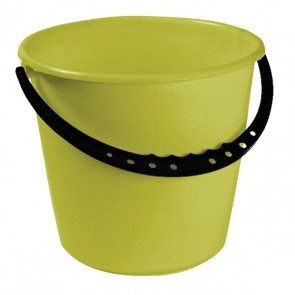 Vödör műanyag fogantyúval, zöld, 10 L - UTOLSÓ 1 DB