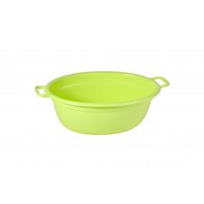 Műanyag lavór, zöld, 12 L