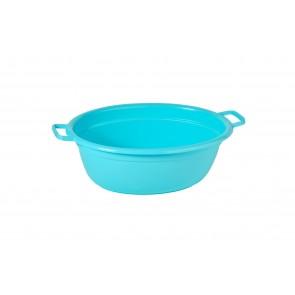 Műanyag lavór, kék, 12 L