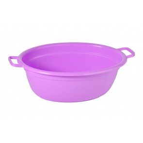 Műanyag lavór, lila, 40 L