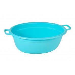 Műanyag lavór, kék, 40 L