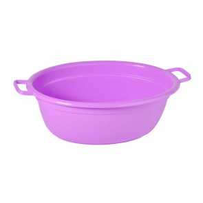 Műanyag mosdótál, lila, 60 L