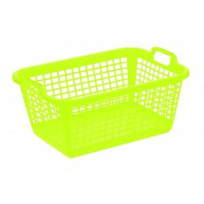 Ruháskosár L, zöld
