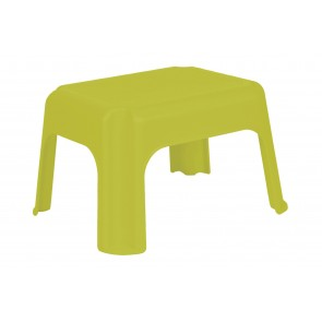 Műanyag sámli, zöld, 36,5x30x24 cm - UTOLSÓ 6 DB