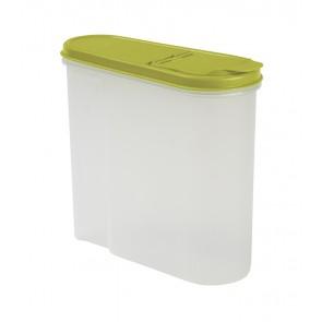 Élelmiszer tároló doboz, zöld, 1,25l - UTOLSÓ 9 DB