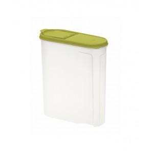 Élelmiszer tároló doboz, zöld, 2,6l - UTOLSÓ 10 DB