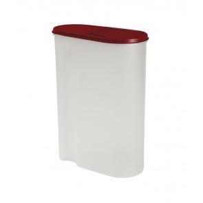 Élelmiszer tároló doboz, piros, 5l - UTOLSÓ 1 DB