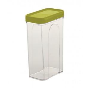Élelmiszer tároló doboz, zöld, 1,5l - UTOLSÓ