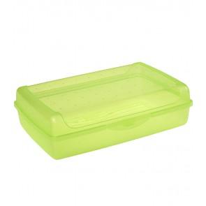 """""""Maxi"""" műanyag uzsidoboz, zöld, 30x20x8,5 cm"""