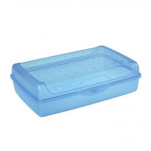 """""""Maxi"""" műanyag uzsidoboz, kék, 30x20x8,5 cm"""