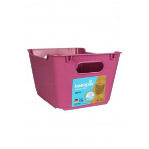 Műanyag doboz LOFT 1,8 l, rózsaszín, 19,5x14x10 cm