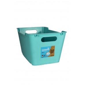 Műanyag doboz LOFT 6 l, kék, 29,5x19x15 cm