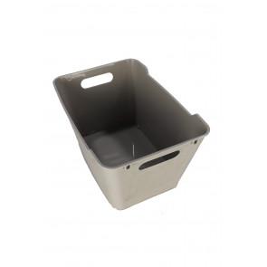 Műanyag doboz LOFT 12 l, szürke, 35,5x23,5x20 cm