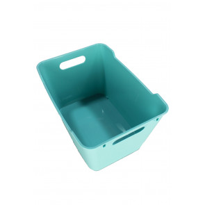 Műanyag doboz LOFT 12 l, kék, 35,5x23,5x20 cm