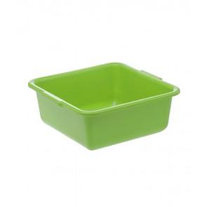 Szögletes tál, zöld, 34x34x15 cm - UTOLSÓ 1 DB