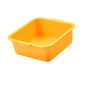 Szögletes tál, narancssárga, 38x38x16 cm - UTOLSÓ 6 DB
