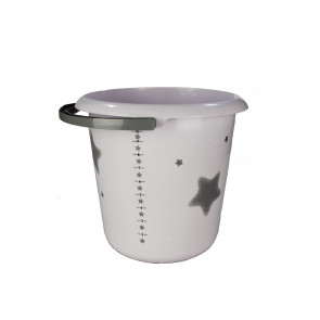 "Fashion műanyag vödör kiöntővel, ""Star"", 30x28 cm, Térfogat: 10 L"