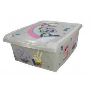 """Fashion műanyag tároló doboz,""""Peppa Pig"""", 39x29x14 cm"""