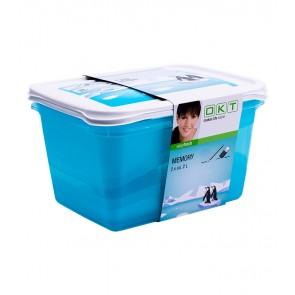 """""""Memory Polar"""" élelmiszer tároló doboz szett, 2x2 l"""