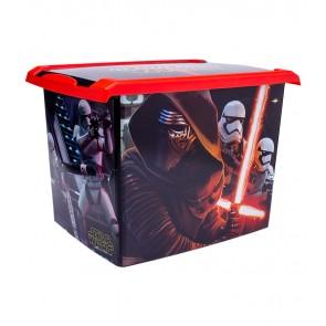 "Fashion műanyag tároló doboz , ""STAR WARS"", 39x29x27 cm"
