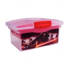 """Utazó doboz, piros, """"Star Wars"""", 40x24x21 cm - UTOLSÓ 10 DB"""