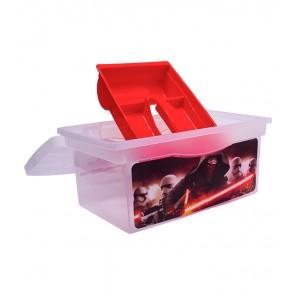 Utazó doboz, piros,
