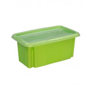 Colours műanyag tároló doboz fedéllel 7L, zöld, 35x20,5x15,5 cm