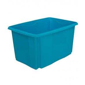 Colours műanyag tároló doboz, 45L, kék, 55x39,5x29,5 cm - UTOLSÓ 13 DB