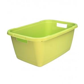 Ruháskosár, 52 L, zöld - UTOLSÓ 23 DB