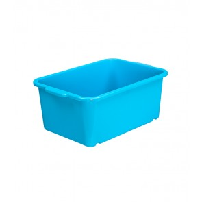 Magic műanyag tároló doboz, kicsi, kék, 25x17x10 cm