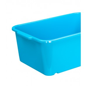 Magic műanyag tároló doboz, nagy, kék, 30x20x11 cm
