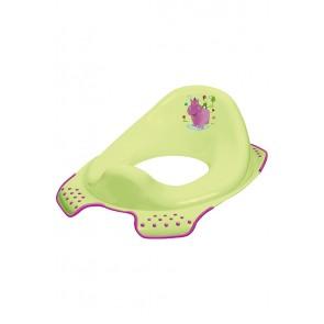 "WC szűkítő ""Hippo"", zöld, 30x40x15 cm"