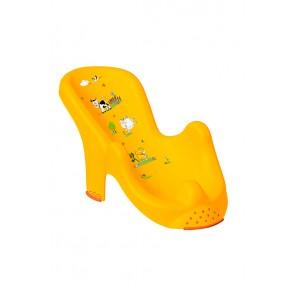 """Anatómiai biztonsági fürdető, világos narancssárga, """"Funny Farm"""", 53x55x22 cm - UTOLSÓ 6 DB"""