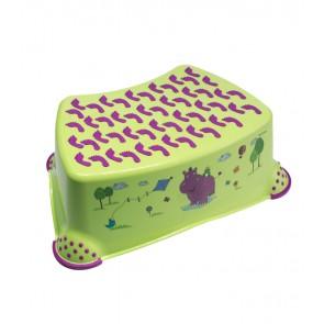 """Gyerek zsámoly, fellépő, zöld, """"Hippo"""", 40x28x14 cm"""