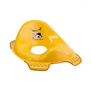 """WC szűkítő """"Funny Farm"""", világos narancssárga, 30x40x15 cm - UTOLSÓ 5 DB"""