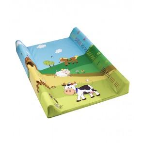 """Pelenkázó lap """"Funny Farm"""", világoszöld, 70x50x10 cm - UTOLSÓ 2 DB"""
