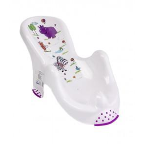 """Anatómiai biztonsági fürdető, fehér, """"Hippo"""", 53x55x22 cm"""
