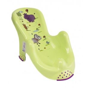 """Anatómiai biztonsági fürdető, zöld, """"Hippo"""", 53x55x22 cm"""