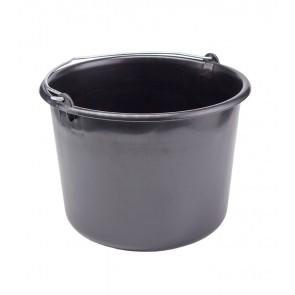 Malteros vödör, fekete, 12 L - UTOLSÓ 6 DB