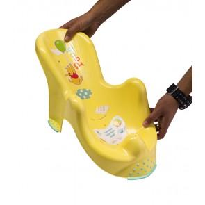Anatómiai biztonsági fürdető, mézsárga,