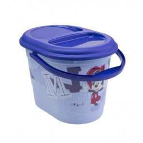 "Pelenkatartó vödör ""Mickey"", kék, 37x26,5x26 cm - UTOLSÓ 4 DB"