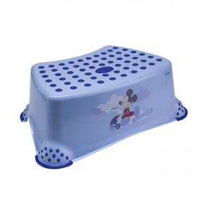 """Gyerek zsámoly, fellépő, kék, """"Mickey"""", 40x28x14 cm - UTOLSÓ 4 DB"""