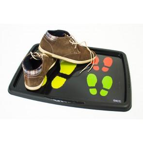 Cipő lecsepegtető tálca - Cipőnyom mintával