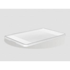Eurobox műanyag fedél, 40x30 cm, átlátszó